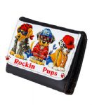 Rockin Pups Personaised Leather Wallet / Purse